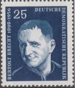 GDR-stamp,_Bertolt_Brecht,_25_Pf.,_1957_Mi._565
