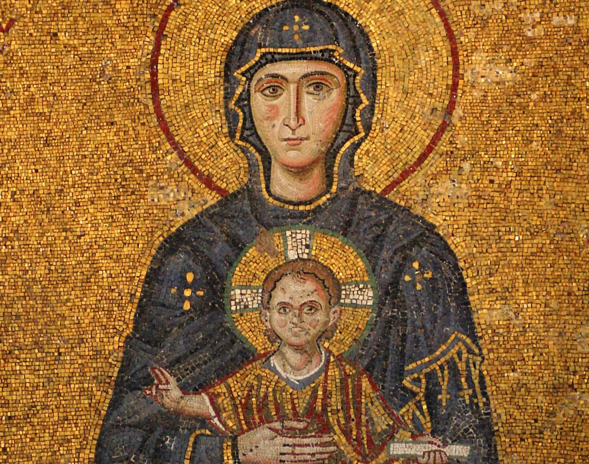 Byzantijnse moza eken read around the globe - Schilderkunst wc kleuren ...