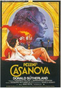 Filmposter voor Fellini's Casanova (1975)