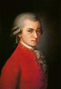 Posthumous portrait of Mozart by Barbara Krafft (1819)