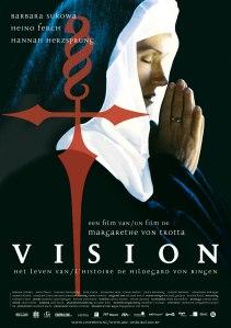 Poster van de Hildegard-speelfilm van Margaretha von Trotta