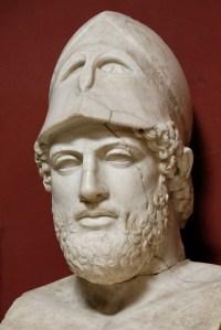 Perikles, een van de helden uit Thoukydides' Peloponnesische Oorlog