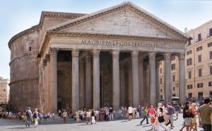 Het Pantheon in Rome (foto Roberta Dragan, WC)