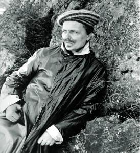 Bildnr 56 August Strindberg, V‰rmdˆ 1891 Foto: John Lundgren (1857-1938)