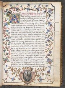 Manuscript van een Philippica van Cicero