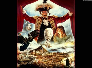 Filmposter van Terry Gilliams The Adventures of Baron Munchhausen