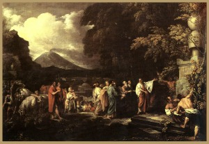 Benjamin West: Cicero Discovering the Tomb of Archimedes (1797)