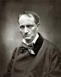 Baudelaire gefotografeerd door Nadar