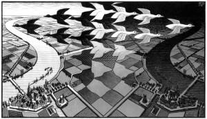 Escher (Dag en nacht)