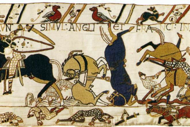 Tapestry_by_unknown_weaver_-_The_Bayeux_Tapestry_(detail)_-_WGA24165