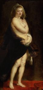 Portret van Helena Fourment, Rubens' jonge vrouw