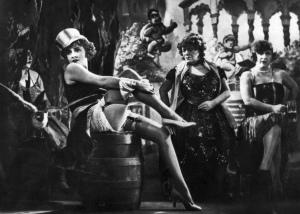 Marlene Dietrich als Lola Lola in Der blaue Engel
