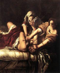 Artemisia Gentileschi: Judit onthoofdt Holofernes