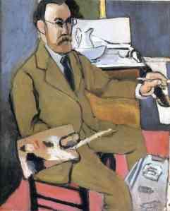 Matisse zelfportret