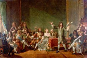 Molière leest Tartuffe voor