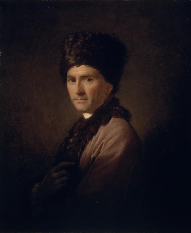 Rousseau door Allan Ramsay (1766)