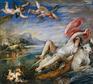 Europa geschilderd door Rubens