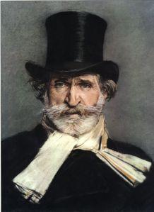 Verdo geschilderd door Giovanni Boldoni (1886)