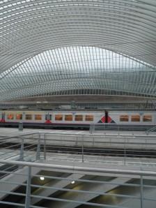 Station Luik-Guillemins (eigen foto)