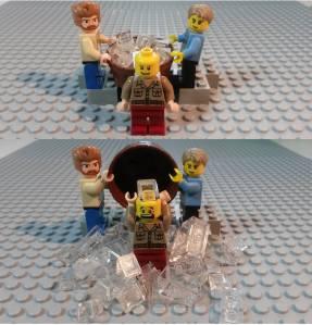 LEGO Ice Bucket Challenge
