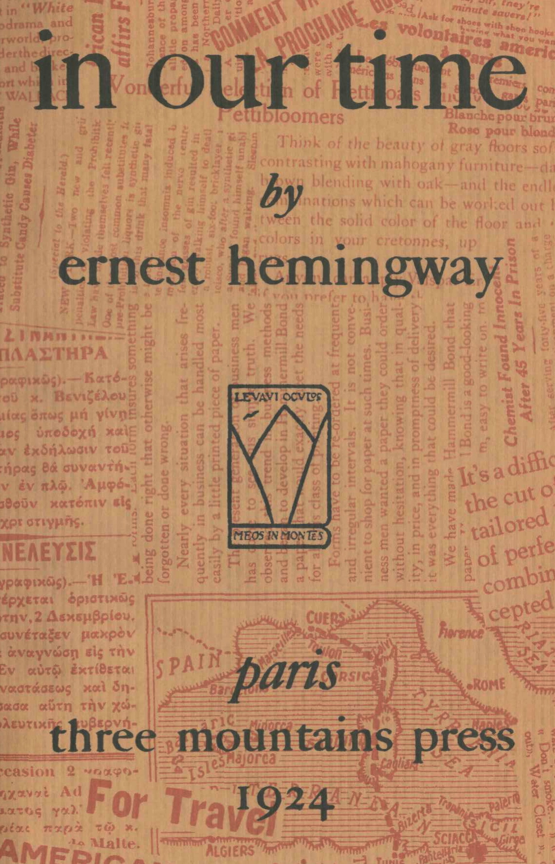 in our time by ernest hemingway essay Essays from bookrags provide great ideas for in our time essays and paper topics like essay view this student essay about in our time.