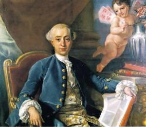 Casanova door Anton R. Mengs