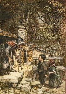 Illustratie Arthur Rackham (1909)
