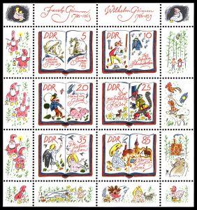 Grimm postzegels